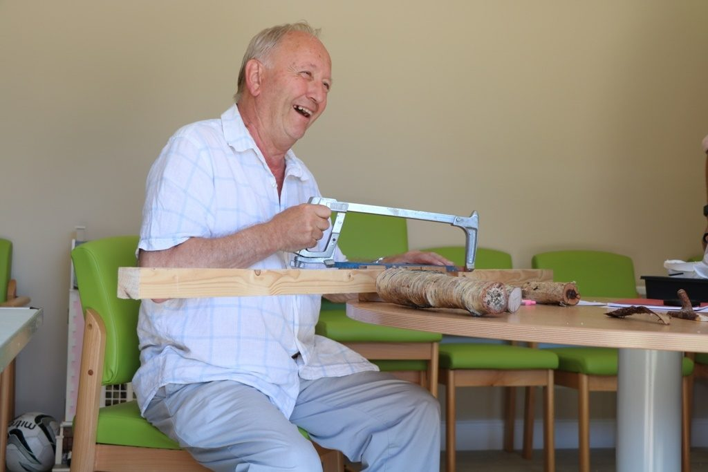 Hospice shed is a hub for patients and the local community