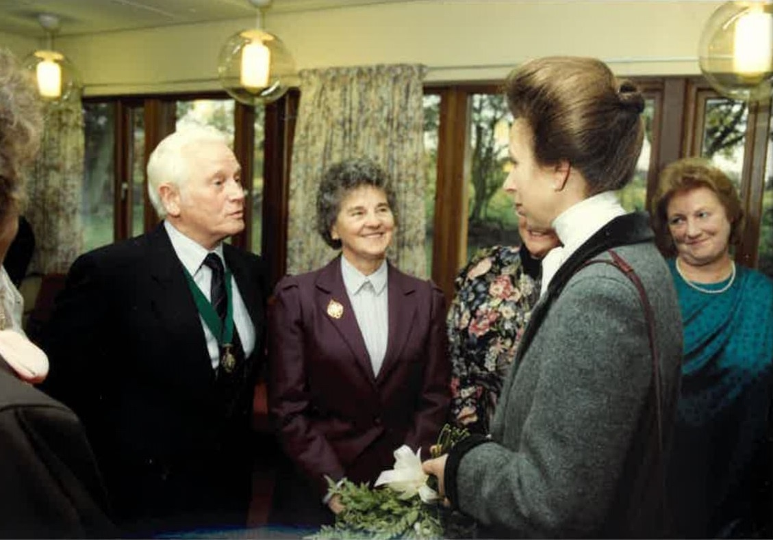 Hospice Chair looks back on 30 years of care