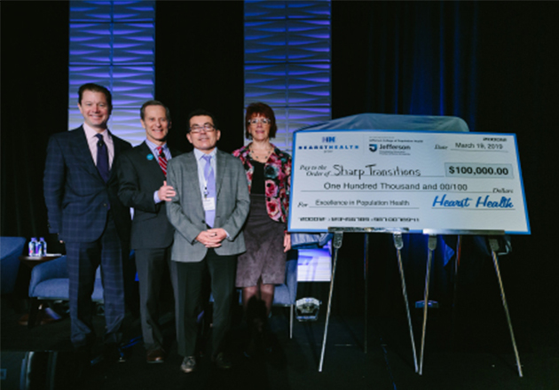 Sharp Transitions Awarded $100,000 2019 Hearst Health Prize for Its Outstanding Home-Based Palliative Care Program