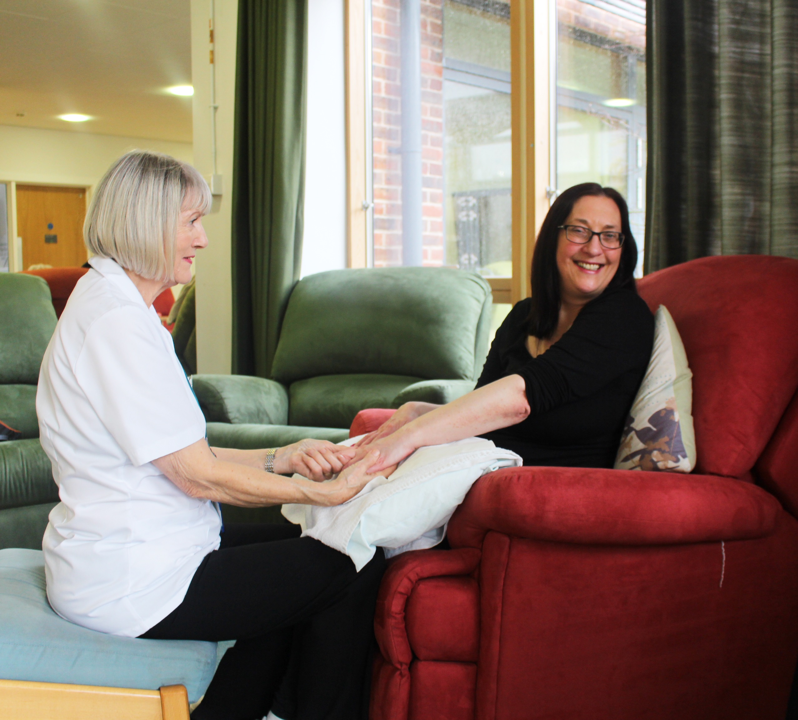 """The hospice has given me a part of my life back"""