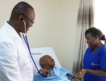 Palliative Care at the slopes of Ngong Hills