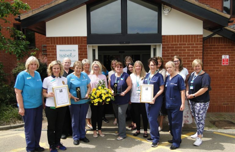 Hospice are finalists for award in customer commitment