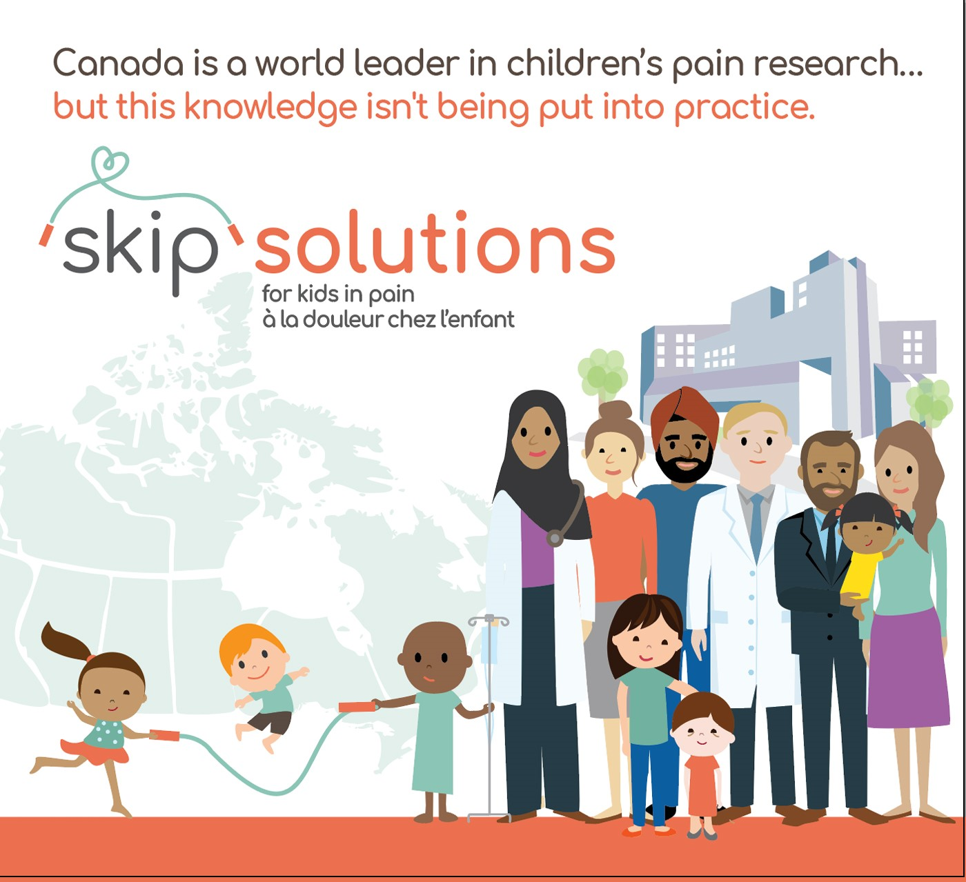 Major funding boost to improve pain management for children in Canada and around the world
