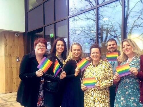 Midlands hospices join forces for Birmingham Pride