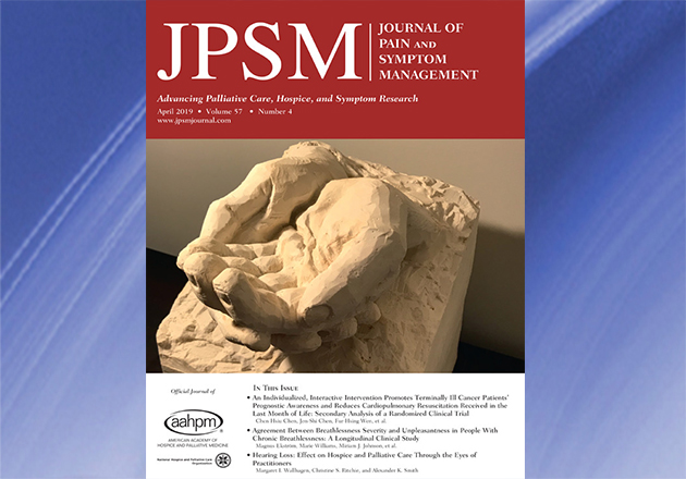Original articles in the April 2019 issue of JPSM