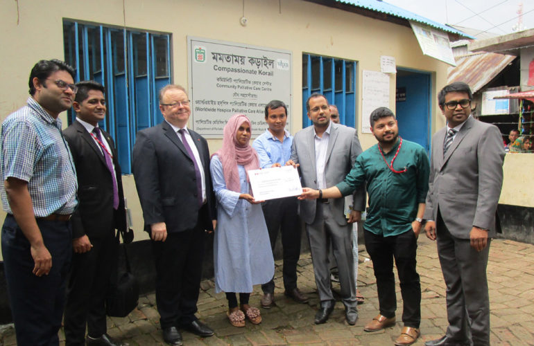 Canadian High Commissioner visits Compassionate Korail Centre in Bangladesh