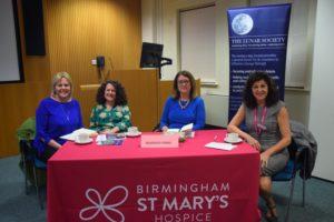 (L-R) Llewela Bailey Sharon Hudson Jacqui Smith and Tina Swani debate the future of hospice care