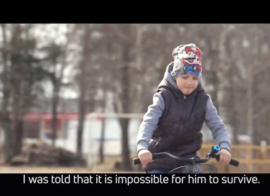 Short film from Latvia reveals the essence of children's palliative care