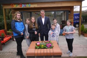 P1150013.JPG Time Capsule Steve Rotheram and children young people