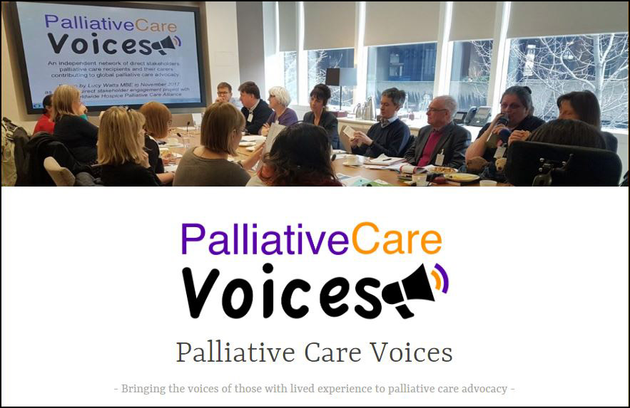 New 'Palliative Care Voices' website launched: elevating the voice of direct stakeholders