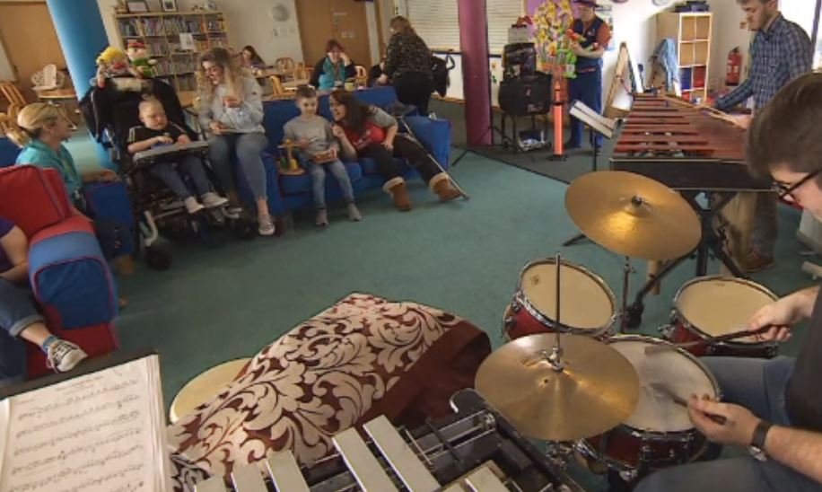 Vote now to support music therapy programme at Ty Hafan Children's Hospice in Wales