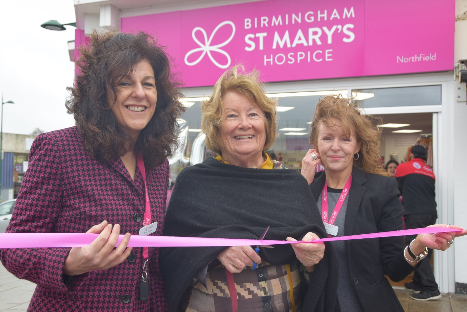 Longest serving volunteer opens new hospice shop in its milestone anniversary year