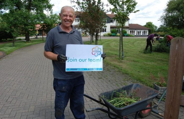 """""""Volunteering as a gardener holds a special place in my heart"""""""