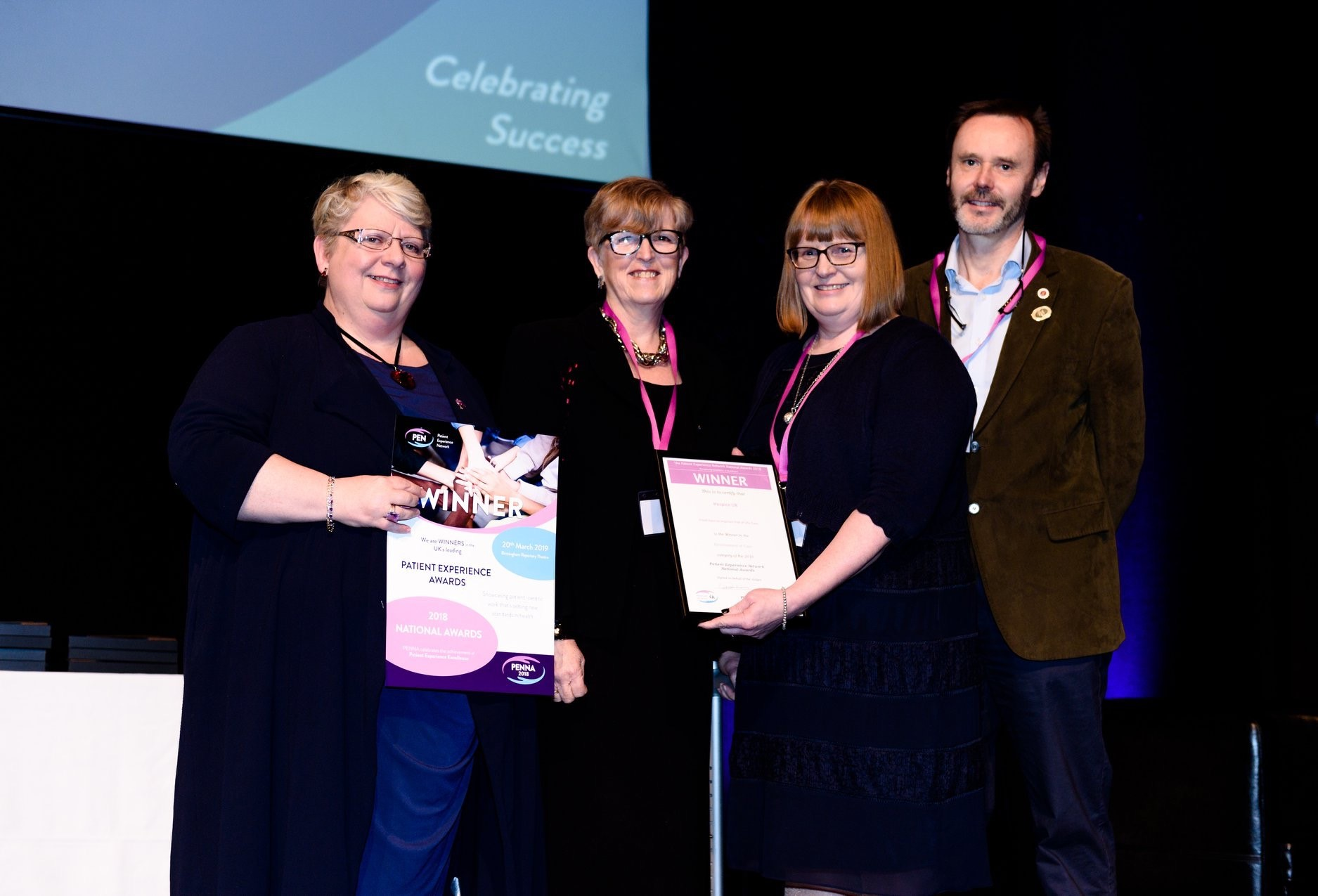 Hospice UK project to improve experience of carers wins national award