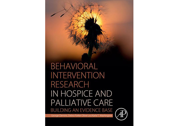 New book explores hospice and palliative care interventions