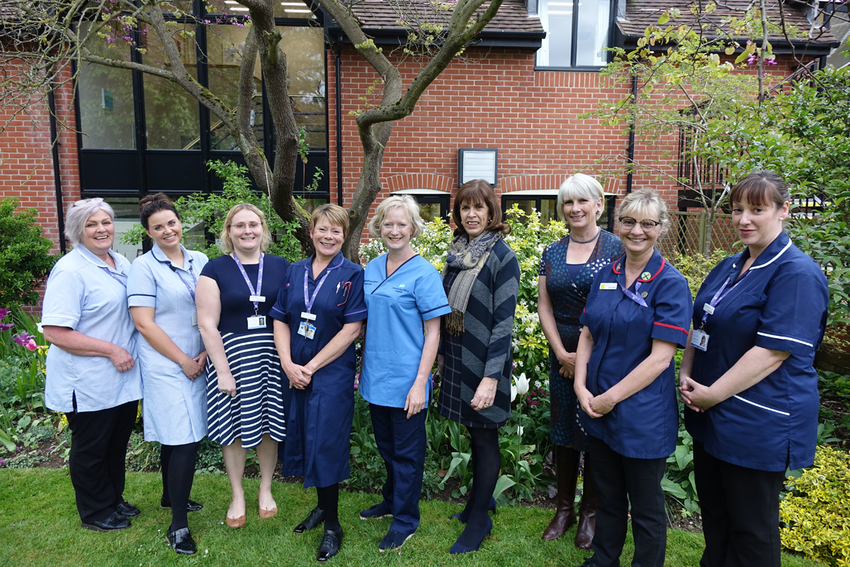 England's Chief Nursing Officer pays a visit to St Helena Hospice
