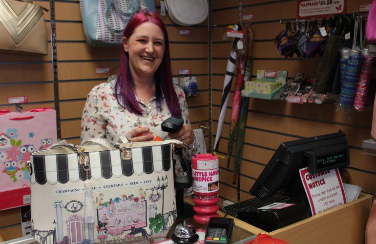 Hospice makes its shops dementia-friendly