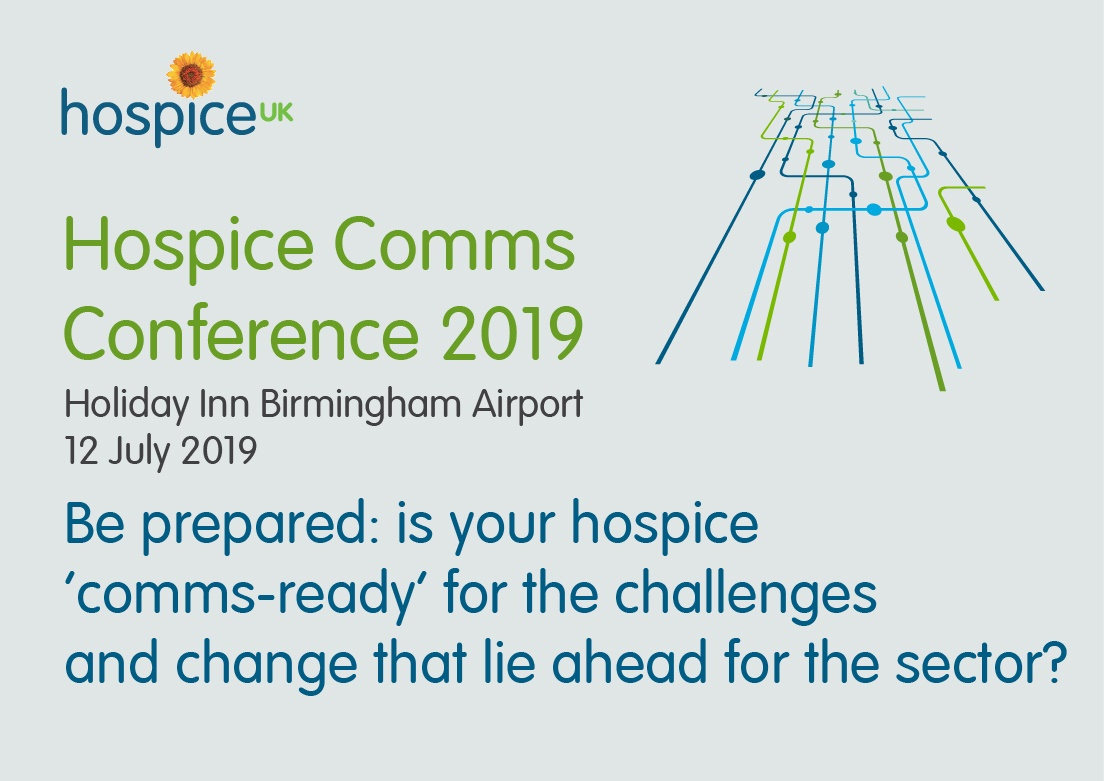 Bookings open for Hospice Comms Conference 2019