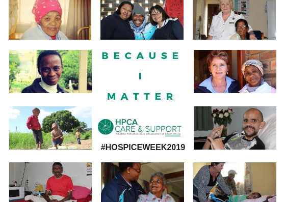 "Celebrating Hospice Week: ""Because I Matter"""