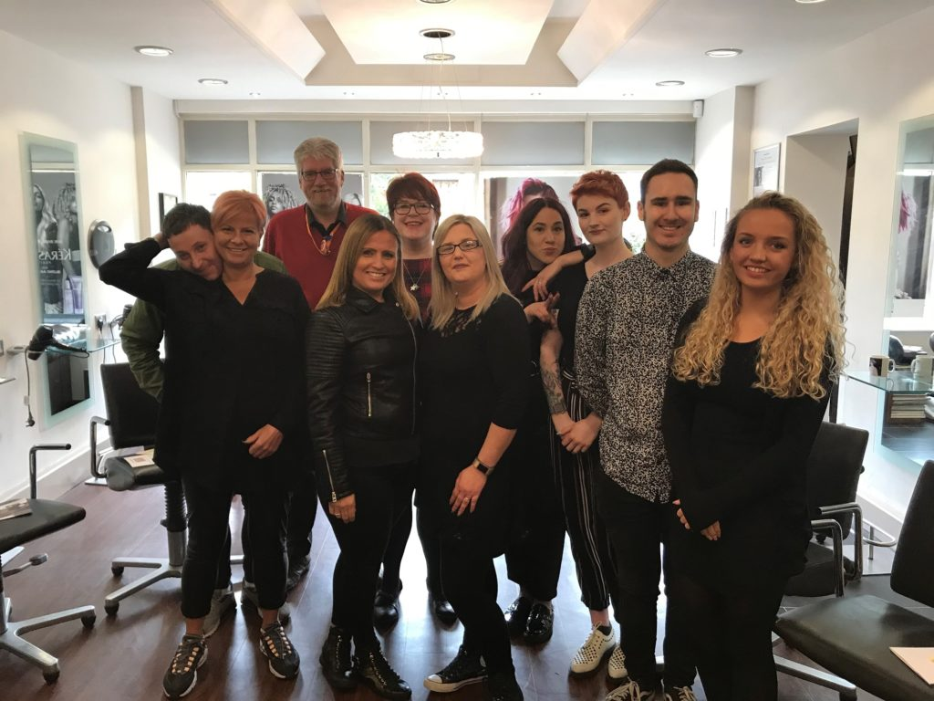 Hospice teams up with hair salon for bereavement awareness