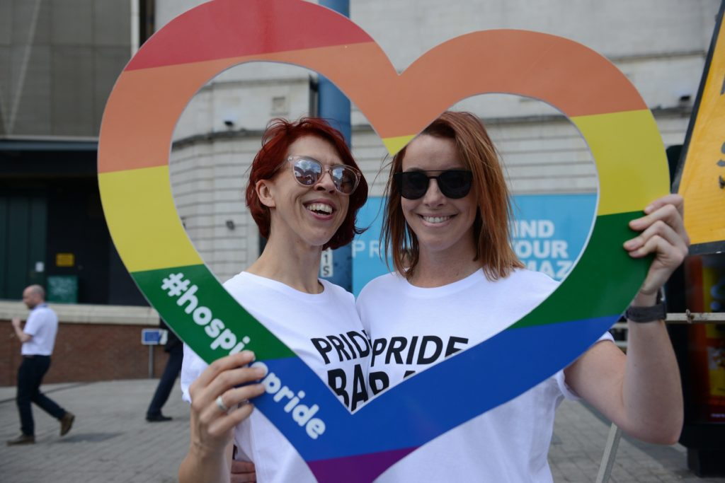 Midlands hospices join forces for Birmingham Pride 2019