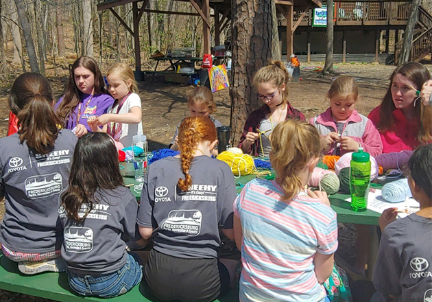 50+ children attend annual weekend grief support camp in Virginia, USA