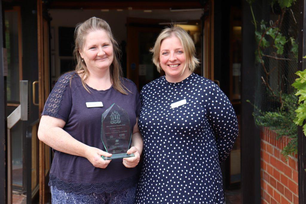 Hospice's community project wins prestigious regional award