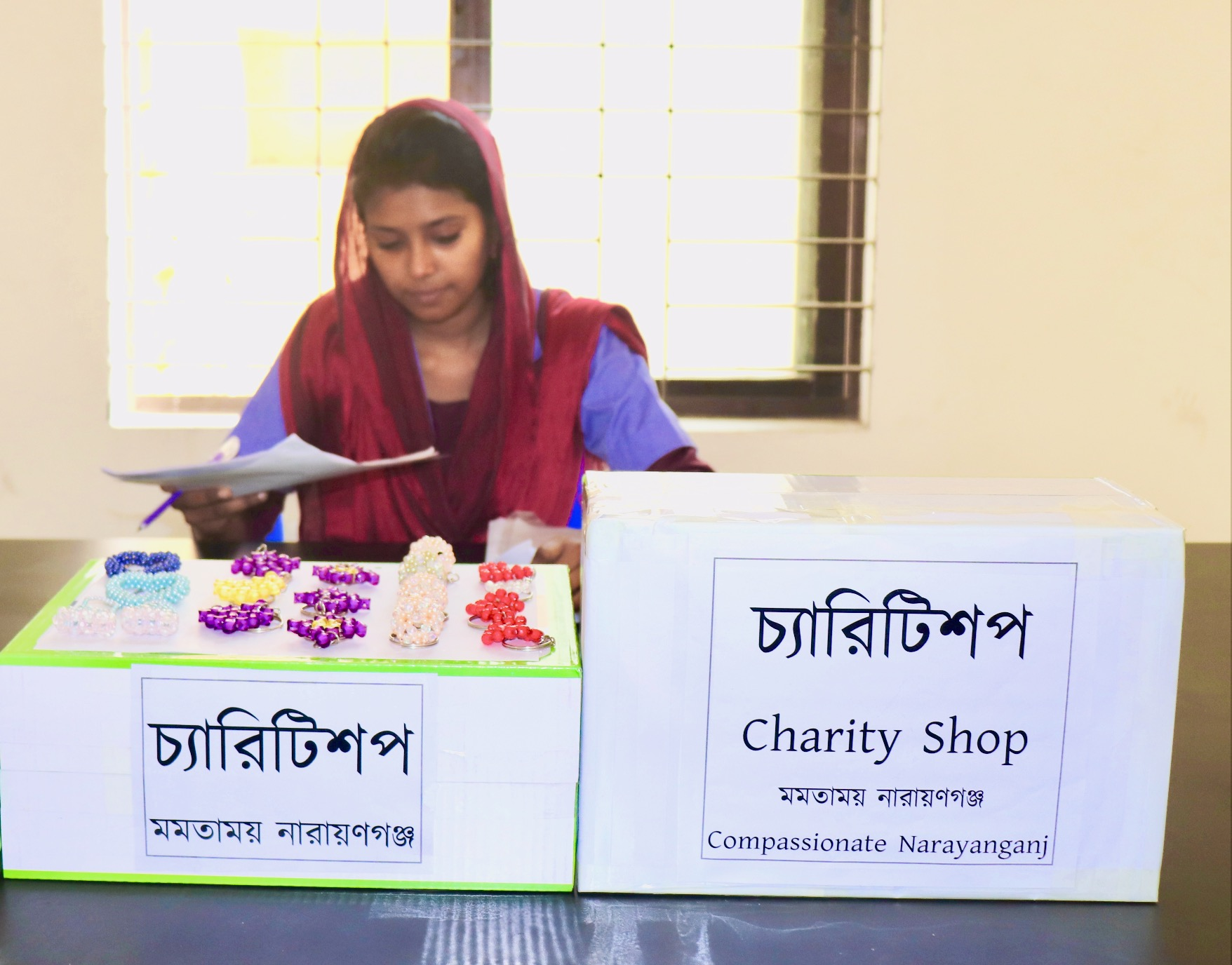 Community in Bangladesh launches charity shop
