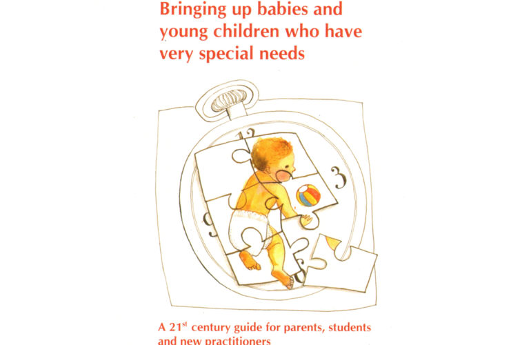 New book on bringing up babies and young children with very special needs