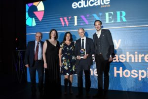 UCLan - Hospice award cropped