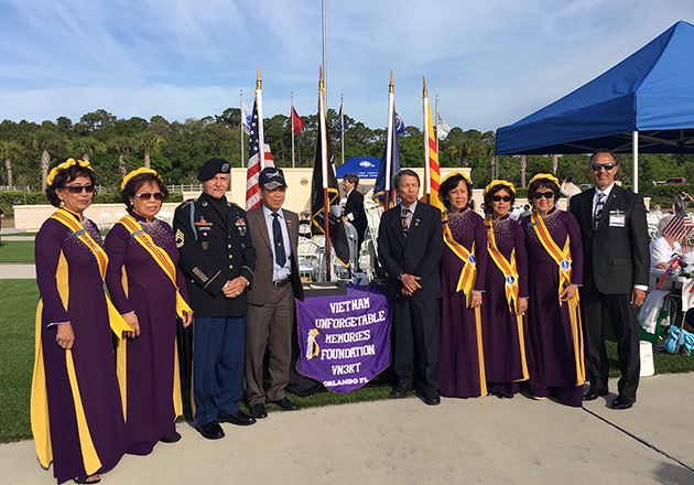 VITAS Healthcare Honors Vietnam Vets in Cape Canaveral National Cemetery