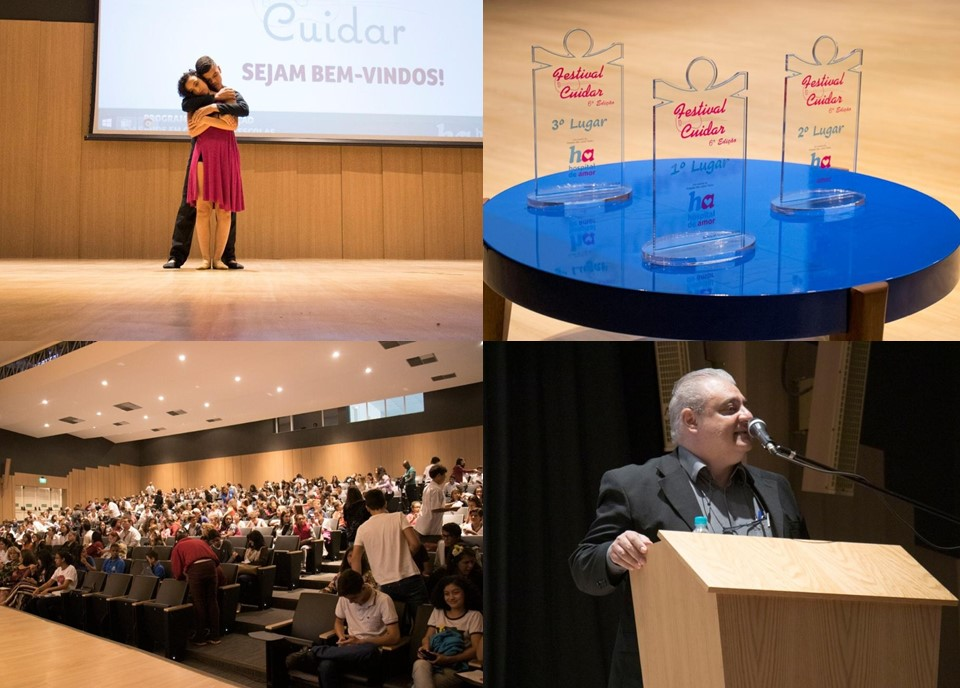 Festival Cuidar – Unidade de cuidados paliativos e núcleo de educação em câncer do Hospital de Câncer de Barretos em parceria com Diretoria Regional de Ensino de Barretos.