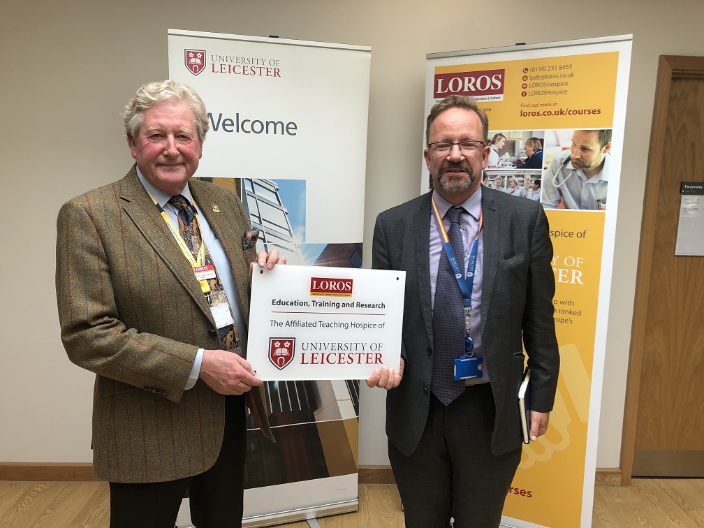 LOROS Hospice and University of Leicester form official partnership