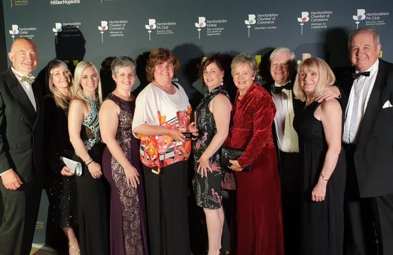 Isabel Hospice wins award for excellence in patient and family care