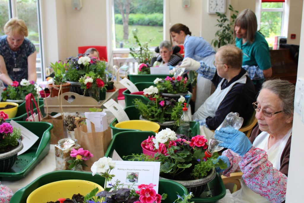Generous grant supports Phyllis Tuckwell's gardening therapy
