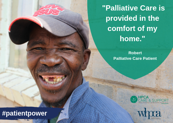 Amplifying the voice of patient champions in palliative care