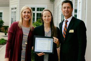Penny Greely wins Caregiver Award