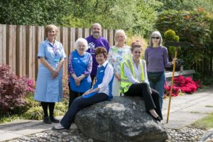 The Hospice has six volunteers to every paid member of staff as shown in.._