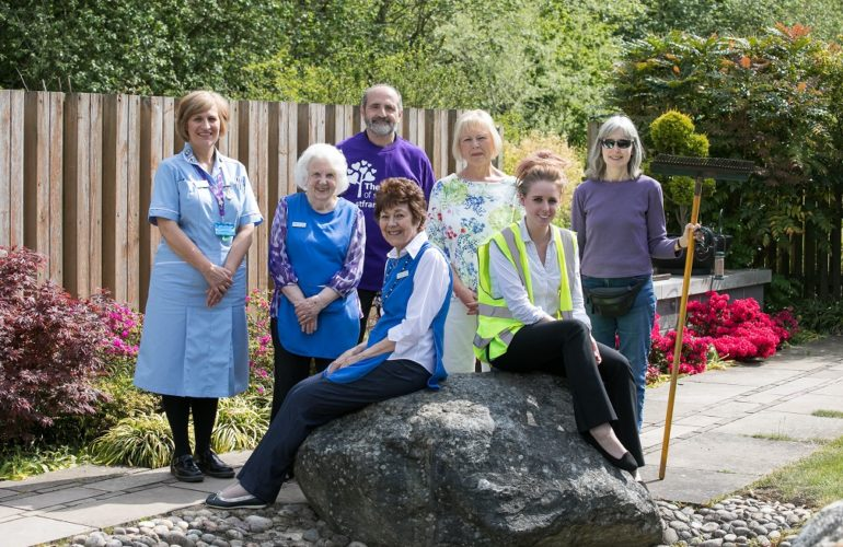 Hospice celebrates 40th birthday and prestigious Queen's Award for Voluntary Service