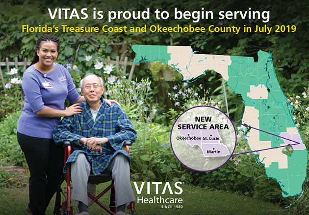 VITAS® Healthcare launches services in Florida's Treasure Coast and Okeechobee County