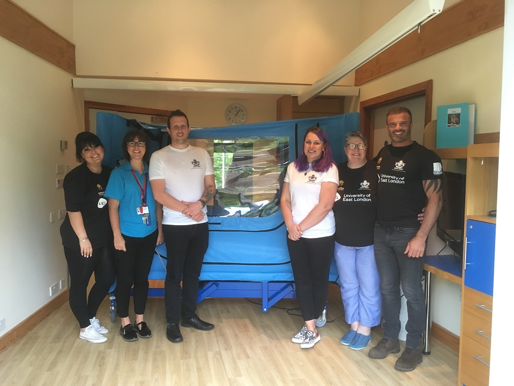 Fundraising group honouring little girl's memory buys beds for hospice