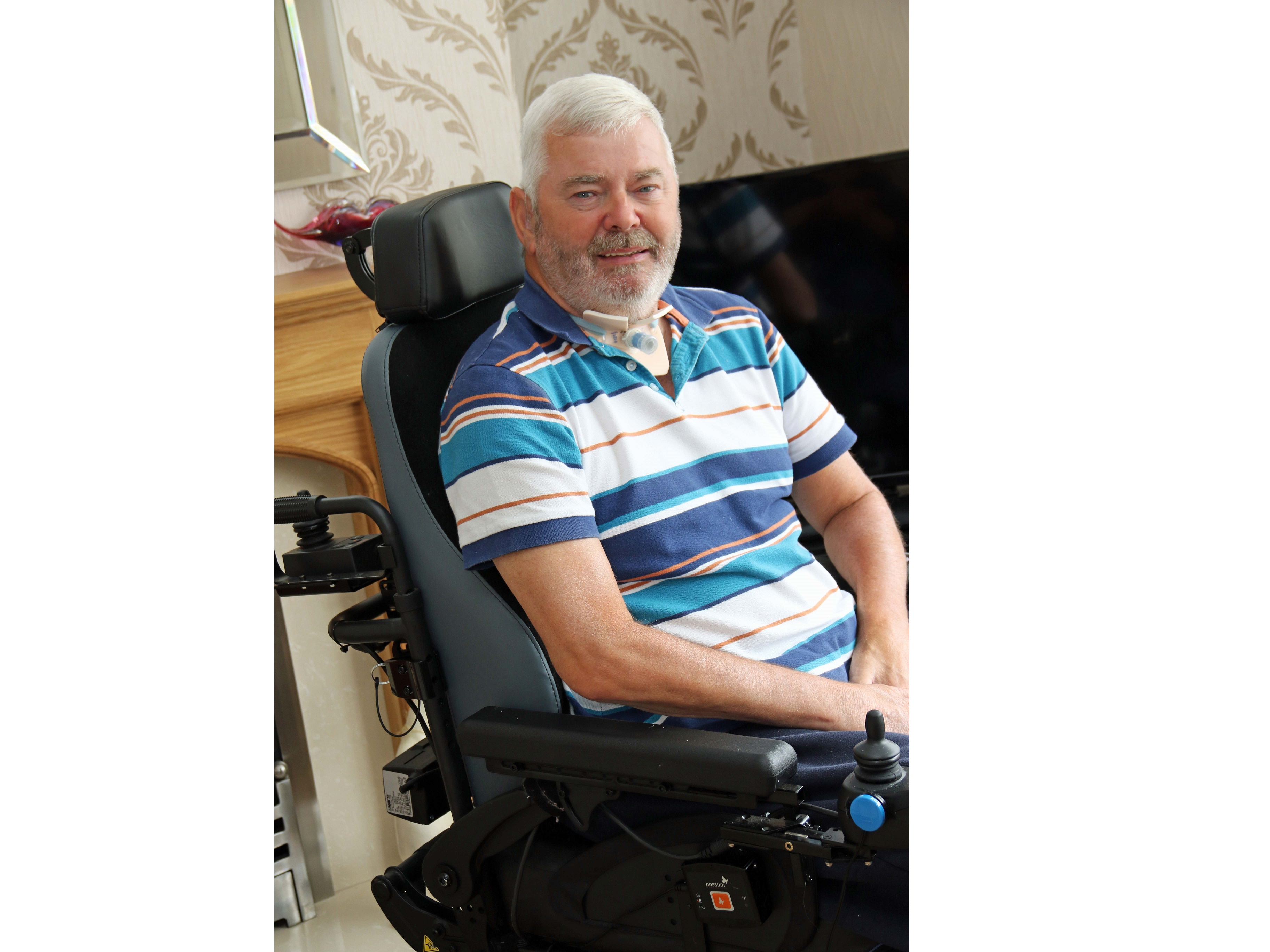Former hill walker struck with rare nerve disorder to scale mountain for hospice