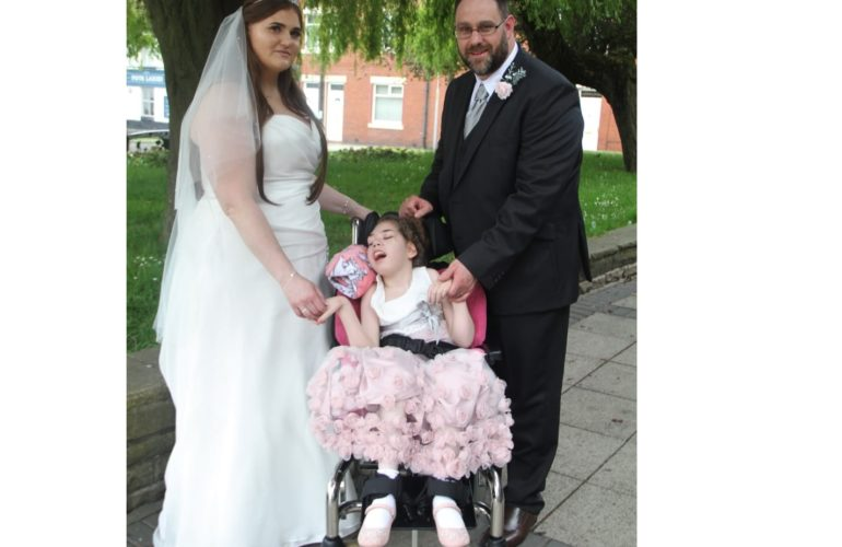 St Oswald's Hospice helps family tie the knot