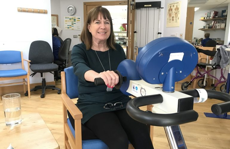 Mountbatten clinic helps reduce travel for MND patients