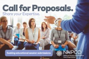 Education session proposals.