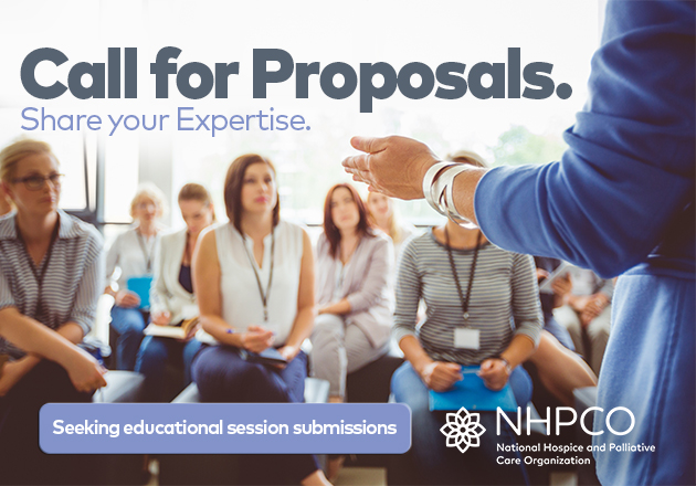 NHPCO Limited Call for Session Proposals Now Open