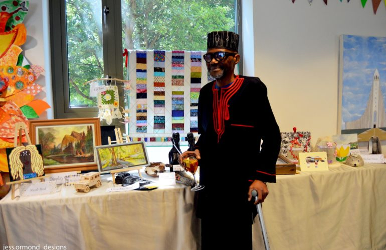 Hospice art festival showcases creative work of patients