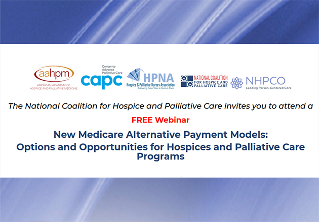 Free APM Webinar offered by National Coalition