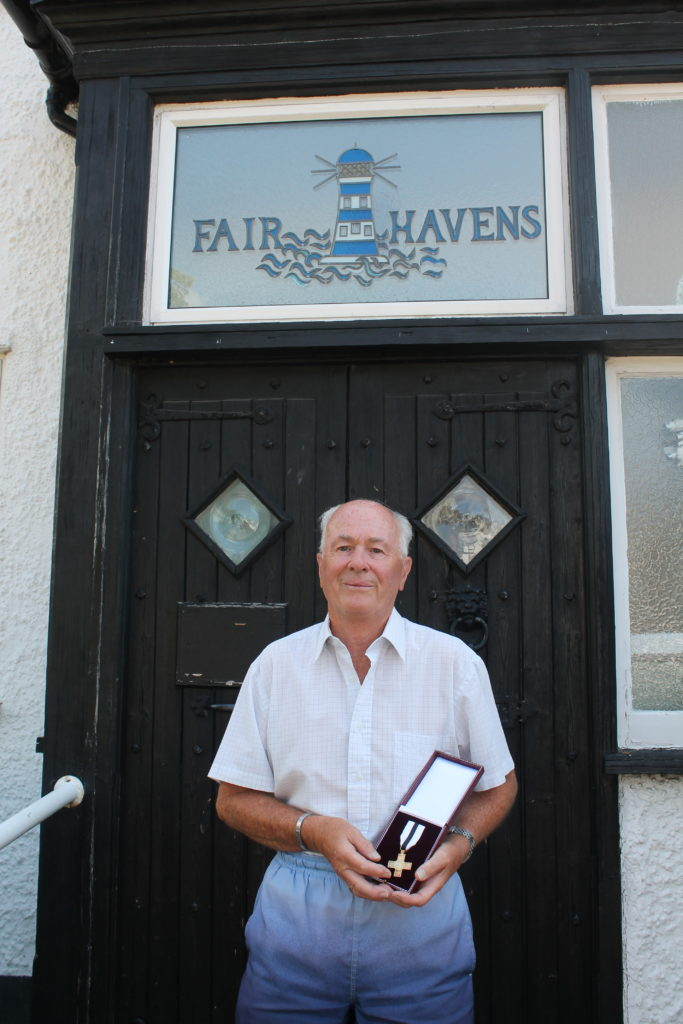 Dedicated Havens Hospices volunteer honoured for more than 37 years of service