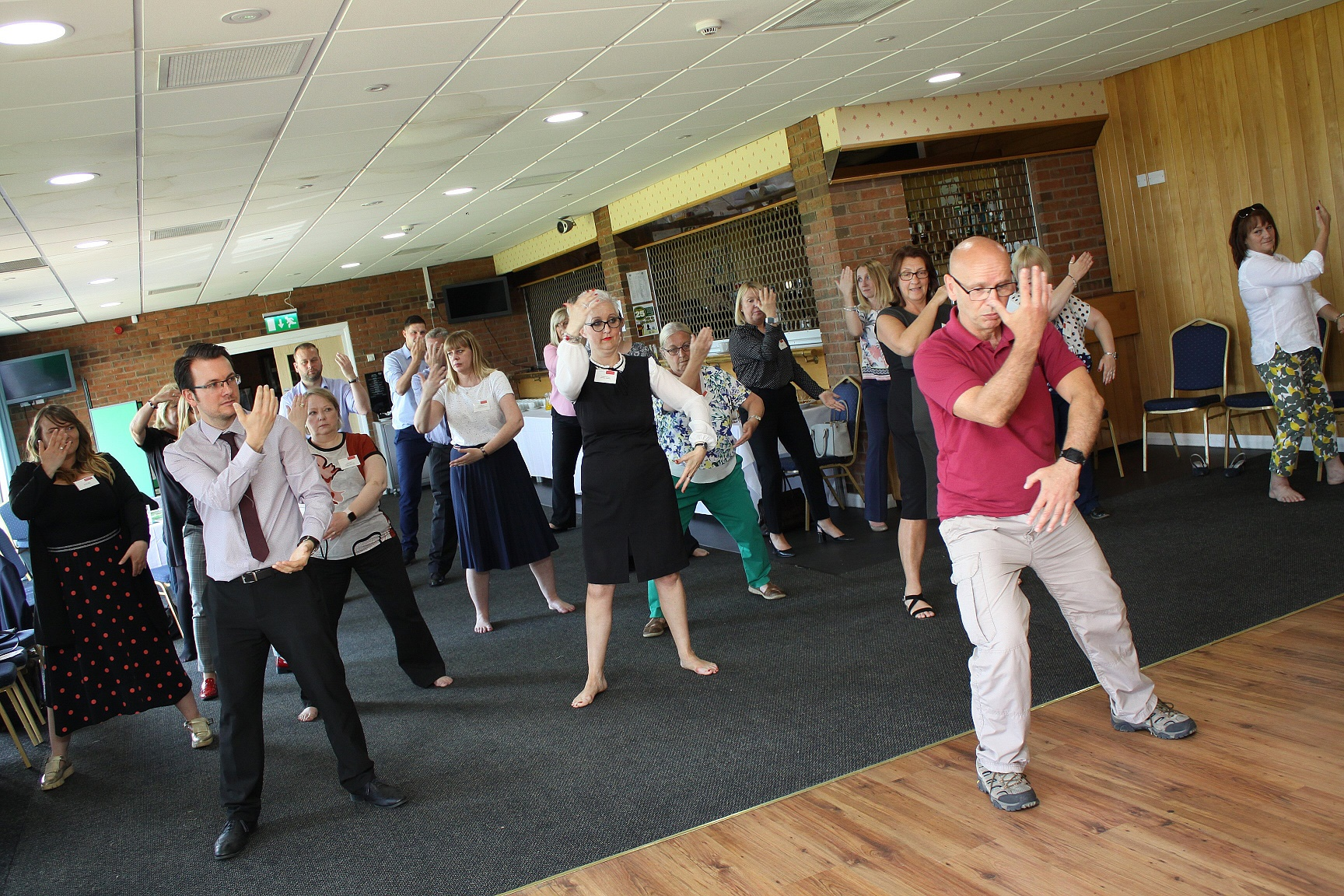 St Teresa's Hospice helps local workers unwind with Tai Chi sessions